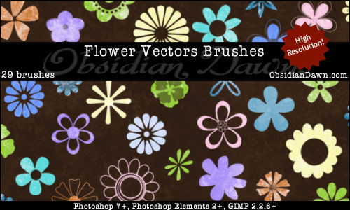 flower-vectors-brushes