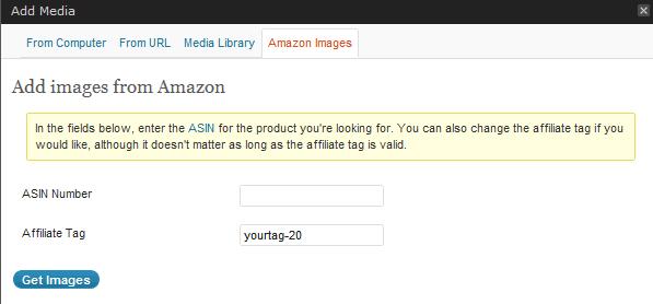 Amazon Images Screen Shot